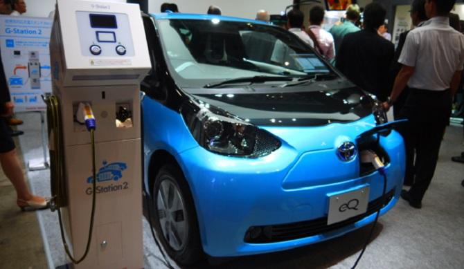 自動車業界電動化の動向